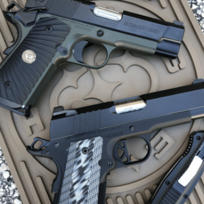 BATTLE OF THE BULLS Dan Wesson ECP Vs Wilson Combat ULC The Firearm Blog