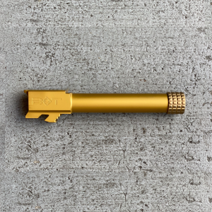 BOT Threaded Barrel Glock FDE Black Nitride Under Titanium Nitride